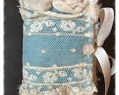Beautiful Handmade Shabby Needle Case Keeper