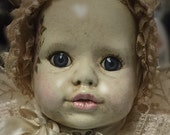 "Hand Painted Vintage Altered Bisque Baby Angel Girl ""Ashley"" Beautiful Detail!"