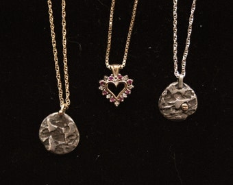 3 Gold Necklaces