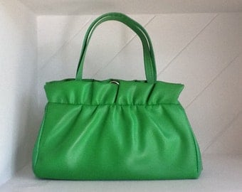 50's, 60's Ladies Top Handle Handbag