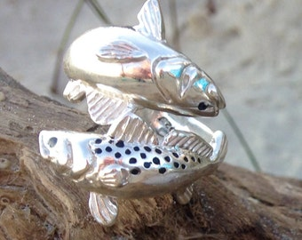 Redfish and Trout Adjustable Ring