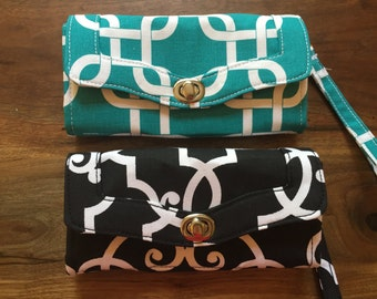 Custom Made Clutch Wallet to Match your bag