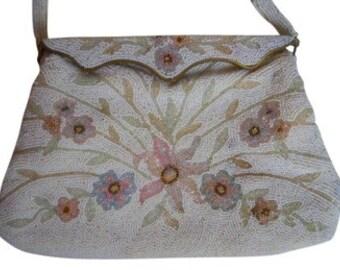 Vintage Francesca's beaded bag