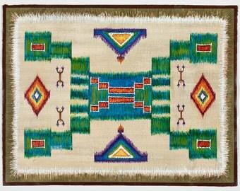 Native American Placemat  Series - Native American Man