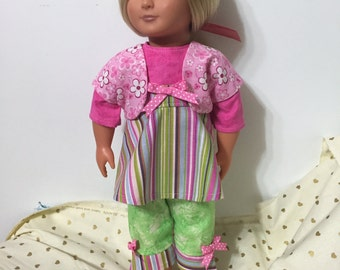 """A """"Spring is Coming"""" Outfit for American Girl or other 18"""" Doll"""