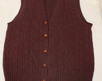 Ralph Lauren Chaps Vest Size 12