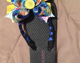 Flip Flops, Embellished Flip Flops: Dory inspired Disney inspired