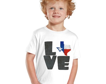 Love Texas kids shirt