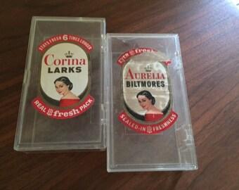 Vintage Plastic Cigar Boxes
