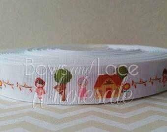 3 yard roll, Little Red Custom Grosgrain Ribbon, Bows, DIY, Crafts, Hair accessories