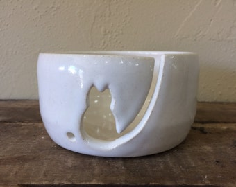 Kitty Yarn Bowl