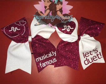 Musical.ly Inspired cheer bows