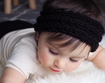 Cozy knit headband//toddler//kid//adult (made order)