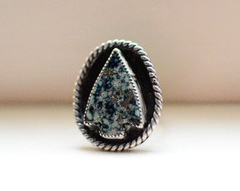Turquoise Arrowhead Ring Size 7