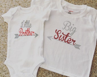 Big and Little Siblings Shirt Set