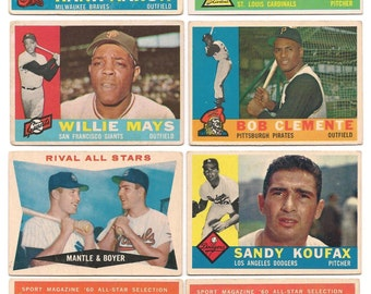 1960 Topps Complete Set VG-EX