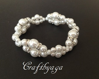 Wedding Bracelet,Bridal Bracelet,Wedding accessories,Bridesmaid Jewelery,Bridal Jewelery,Bridesmaid Gift,Wedding jewelry,Mother Of The Bride