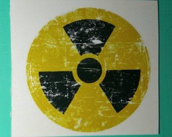 Radioactive Stickers