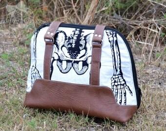 Skeleton Bowler Bag