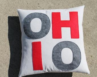 Custom Made OHIO Pillow Cover