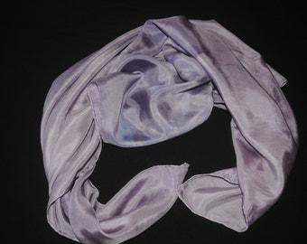 Hand-DyedHabotai Silk Scarf