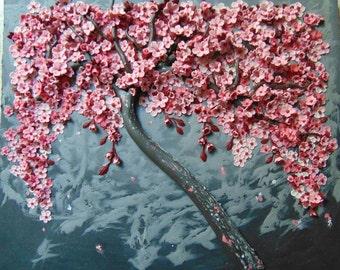 Plum blossom portrait