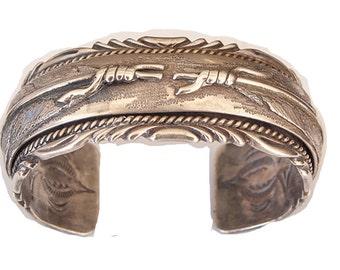 Navajo sterling silver bracelet. Absolutely beautiful,