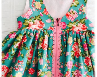 Sadie zip dress