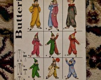 Vintage 1960s Butterick costume pattern 3169 child size 10 new uncut