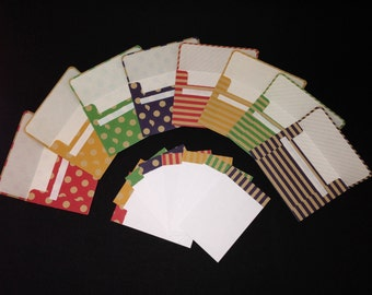 Polka dot/Stripes set 1