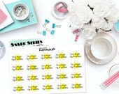 "SNARK SERIES: ""I'm a ray of friggin sunshine"" Paper Planner Stickers!"