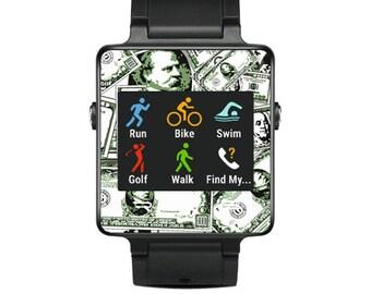 Skin Decal Wrap for Garmin Vivoactive Forerunner, Vivoactive Forerunner Hr Watch cover sticker Phat Cash