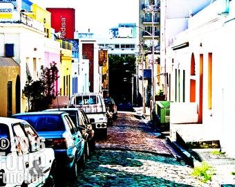 street photography, Bo-Kaap, Cape Town, South Africa, photography, urban, metro, downtown, street, lifestyle, architecture, apartheid, dark