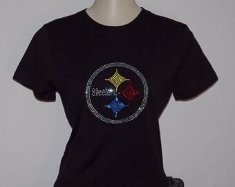 Rhinestone Pittsburgh Steelers t-shirt