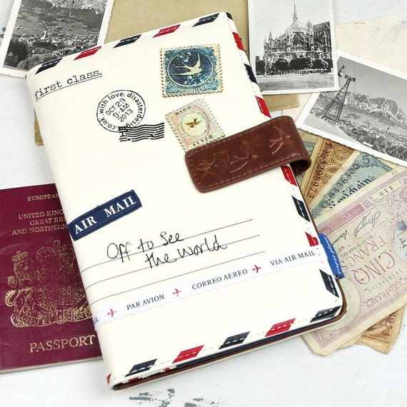 Off to see the world Travel Wallet
