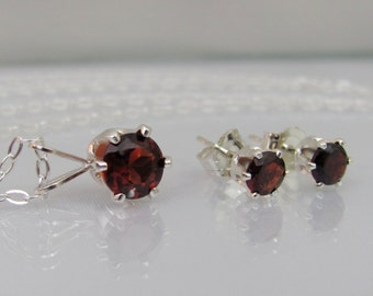 "Shop ""garnet jewelry"" in Jewelry Sets"