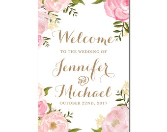 Welcome Wedding Sign, Welcome Wedding Printable, Wedding Welcome Sign, Welcome Sign, Wedding Poster Board, Printable Welcome Sign #CL214