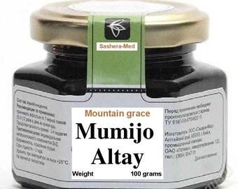 MUMIJO from ALTAY(Siberia Russia)100g. shilajit/mumio/mumiyo/momia/mineral pitch