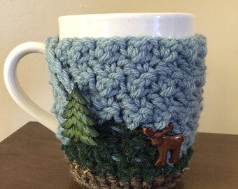 Mountains Cozy Mug Sweater | Coffee | Tea | Cocoa | Cider
