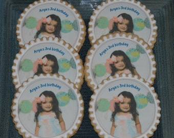 Personalized Picture Cookies