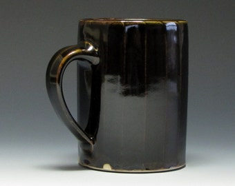 Mug with Brown Glaze