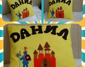 Pillow knight removable pillow decorative pillows