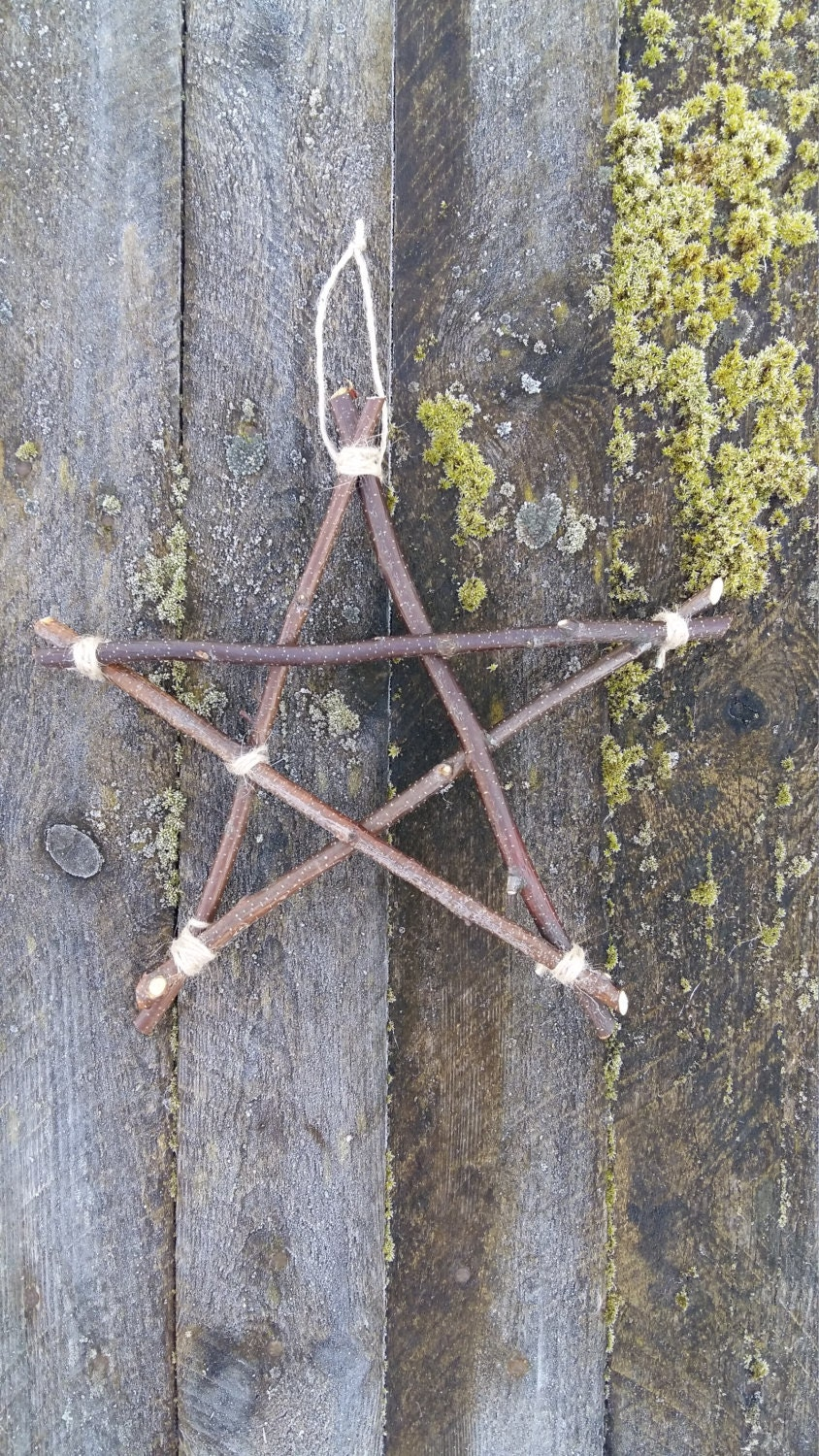 Twig Wall Decor twigs star rustic home decor primitive wall decor hanging star