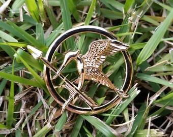 Large Hunger Games Inspired Mockingjay Pin/Brooch
