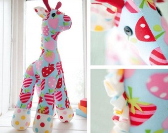 Gerbera The Giraffe Sewing Pattern Download (802606)