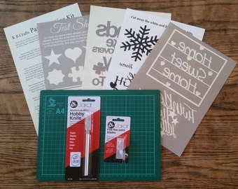 Paper Cutting DIY starter kit Issue 1