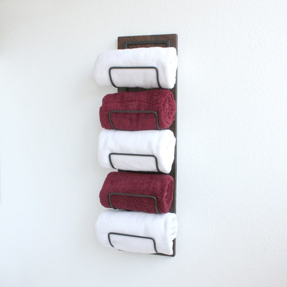 Wall Towel Rack Rolled Towels Bing Images