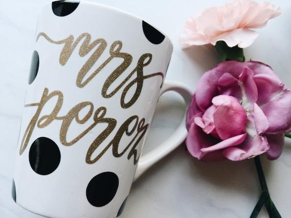 Mrs. Mug / Wedding Mug / Newly Married