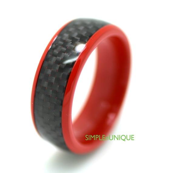 titanium ring unique titanium wedding by simplenunique