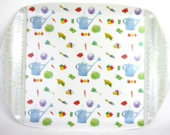 Vegetable gardening  medium sized tray